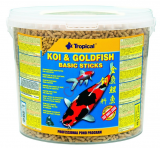 TROPICAL POND Koi-Goldfish Basic sticks 21L/1800g