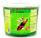 TROPICAL POND Koi-GoldfishVegetablesticks 21L/1800g