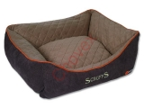 Pelech SCRUFFS Thermal Box Bed hnedý XL 90x70cm