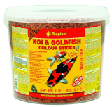 TROPICAL POND Koi-goldfish Colour sticks 5L/450g