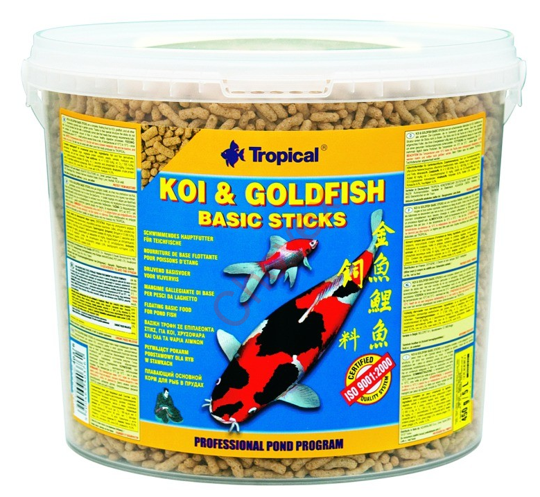 TROPICAL POND Koi-Goldfish Basic sticks 11L/900g