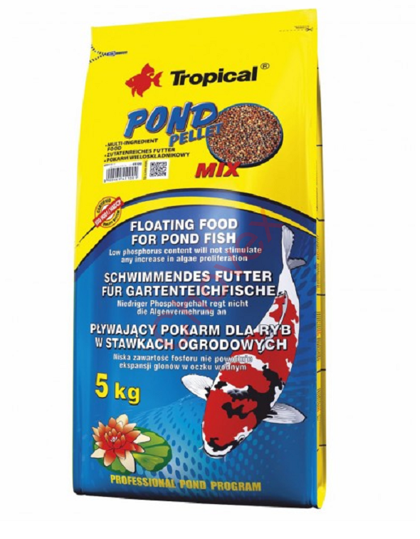 TROPICAL-Pond Pellet Mix M 4kg vrece