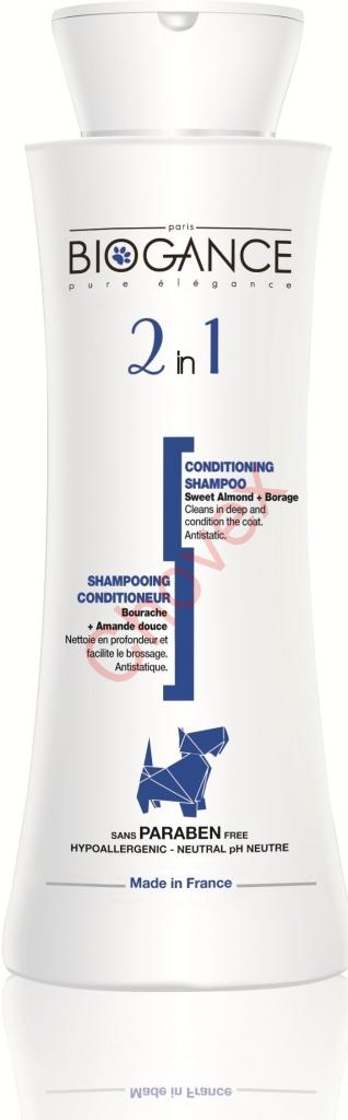 BIOGANCE 2 in 1 shampoo 250 ml