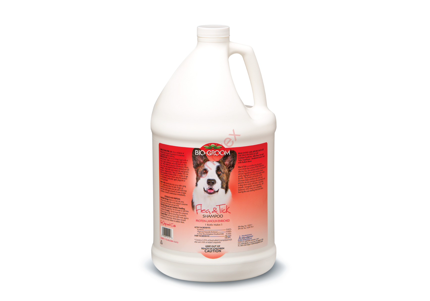 Bio Groom  Flea & Tick šampón 3.8l
